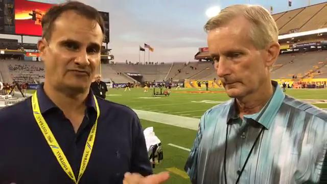 Doug Haller and Jeff Metcalfe preview the Arizona State-San Diego State game ahead of kickoff at Sun Devil Stadium.