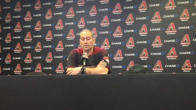 Diamondbacks react to 'tough' loss to Padres