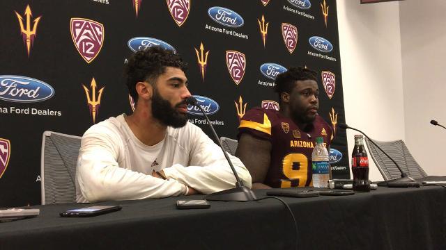 ASU players react to loss to San Diego State