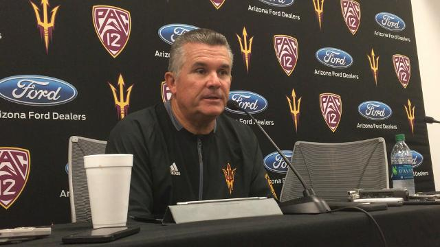 Todd Graham breaks down ASU's loss to San Diego State