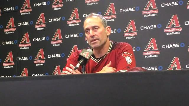Manager Torey Lovullo on D-Backs' win, Bradley's save