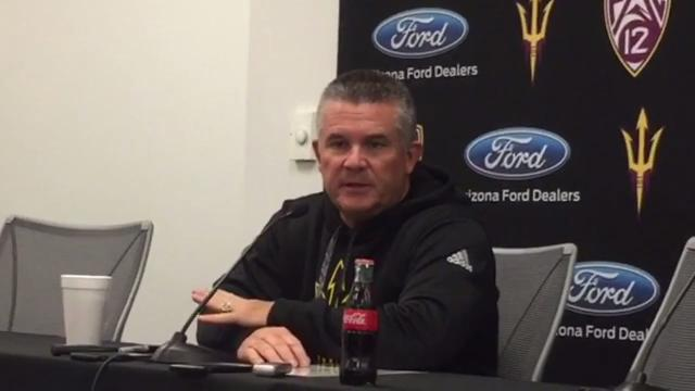 ASU football coach Todd Graham talks about special teams and other issues in a loss to San Diego State on Monday.