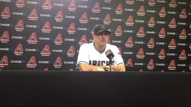 Torey Lovullo on loss to Rockies