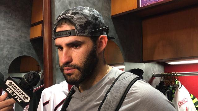 J.D. Martinez following D-Backs' loss to Rockies