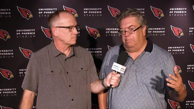 azcentral sports' Kent Somers and Bob McManaman discuss Arizona Cardinals highlights from Wednesday's practice.