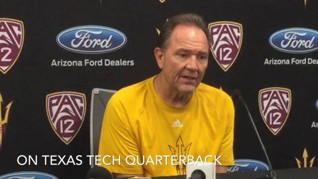 ASU defensive coordinator Phil Bennett on Texas Tech
