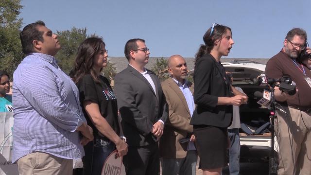 Arizona Representative Athena Salman encouraged a boycott of Motel 6 during protest
