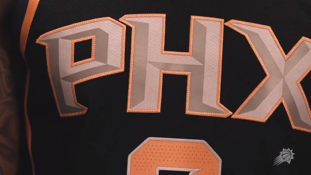 Suns unveil 'Statement Edition' uniform