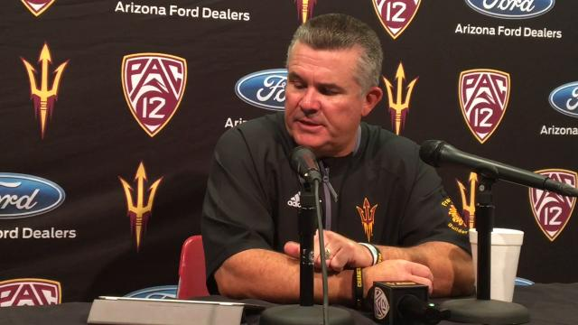 """Graham: """"It's a tough locker room in there, because our guys don't like to lose."""""""