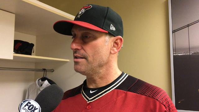 Torey Lovullo after loss to Giants