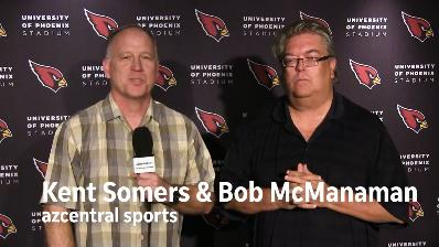 Somers and McManaman discuss tension between Arians and Palmer.