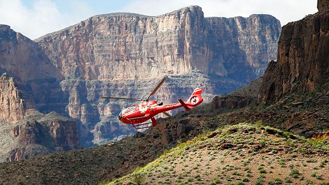 Threats to the Grand Canyon: Helicopter traffic