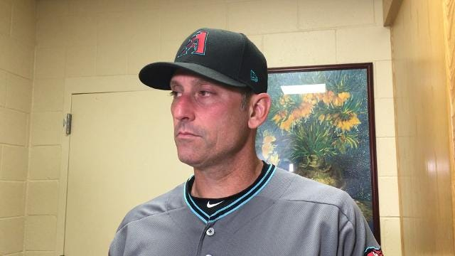 "Diamondbacks manager Torey Lovullo said he has ""minimal"" concern about his team's recent offensive struggles."