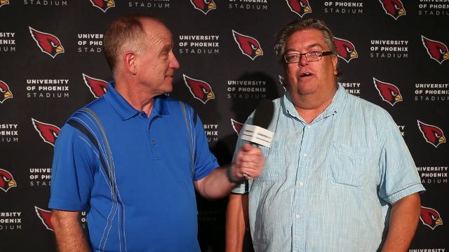 Cardinals Insiders Kent Somers and Bob McManaman report from practice. Michael Chow/azcentral.com