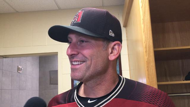 Diamondbacks manager Torey Lovullo talks about his team's 13-7 come-from-behind win over the San Diego Padres on Wednesday night.