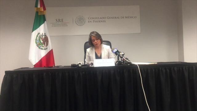 Cónsul Claudia Franco habla sobre ayuda al sismo