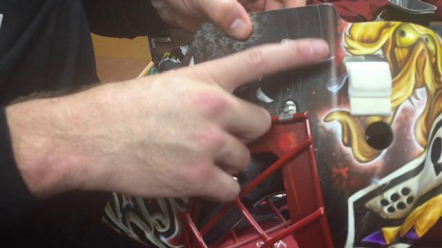 Coyotes goalie Louis Domingue explains the design behind his new mask.