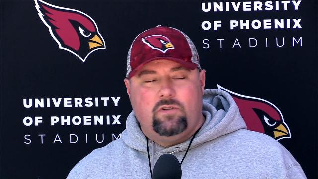 Arizona Cardinals offensive coordinator Harold Goodwin and defensive coordinator James Bettcher talk Friday, September 22, 2017,  about the teams preparation for the Dallas Cowboys on Monday night football.
