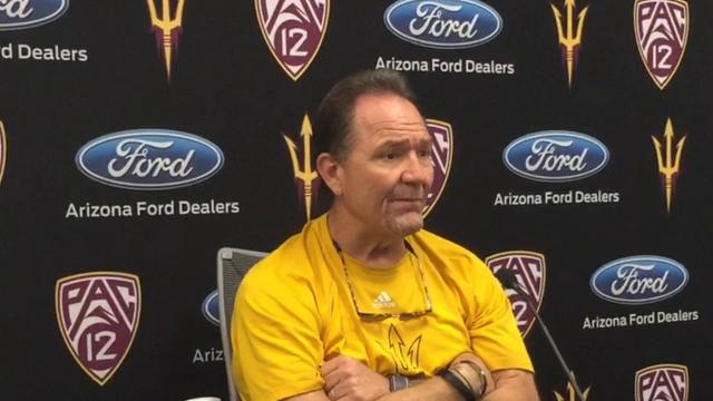 ASU football defensive coordinator Phil Bennett