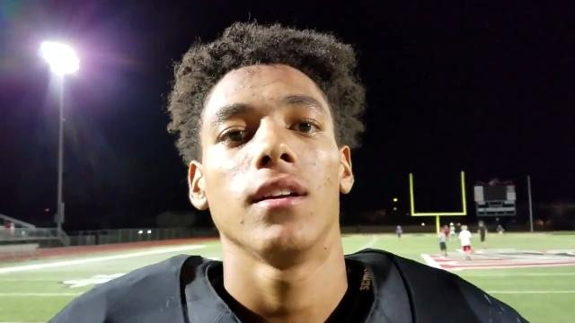 Williams Field wide receiver Nick Cupp-Allen talks catching a game-winning pass and getting his coach get his 100th win.