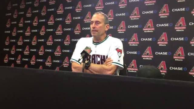 Diamondbacks manager Torey Lovullo discusses Arizona's 13-11 comeback win over the Marlins on Friday.