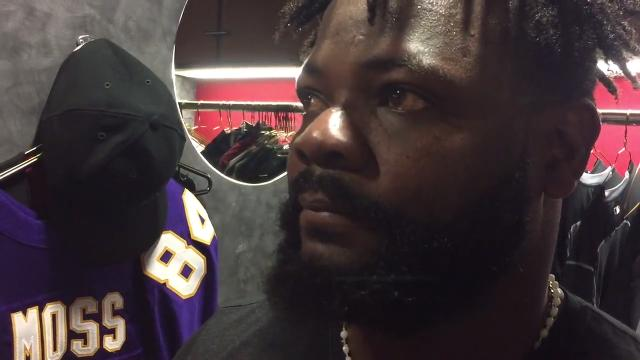 Diamondbacks closer Fernando Rodney speaks after recording his 300th save in a win over the Marlins on Friday.