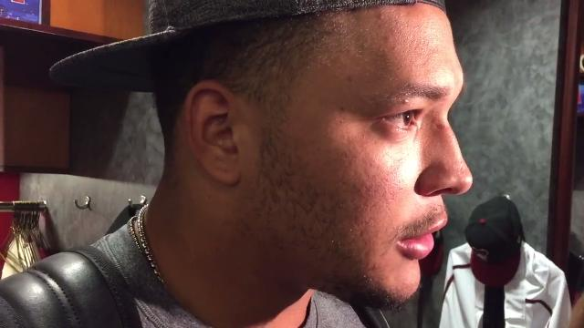 Diamondbacks starter Taijuan Walker discusses what went wrong in Arizona's loss to the Marlins on Saturday.