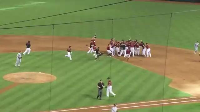 D-Backs celebrate walk-off win over Miami