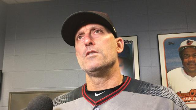 D-Backs' manager Torey Lovullo on Walker, Bradley vs. Royals