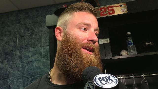 Archie Bradley after loss to Royals