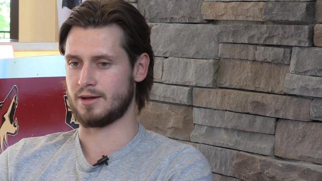 Coyotes defensmean Oliver Ekman-Larsson talks the Coyotes' new direction.