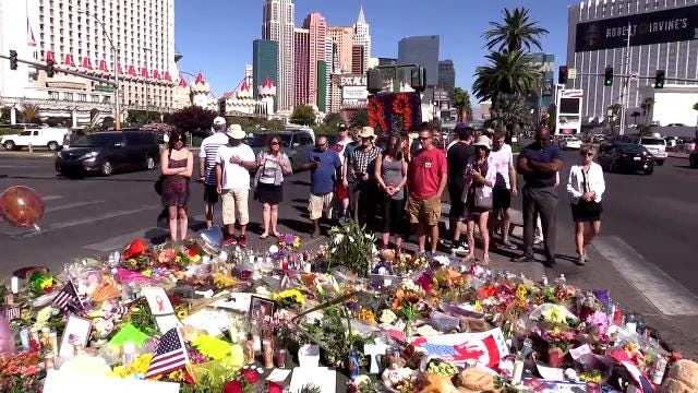 Mood on the Las Vegas Strip varies after mass shooting
