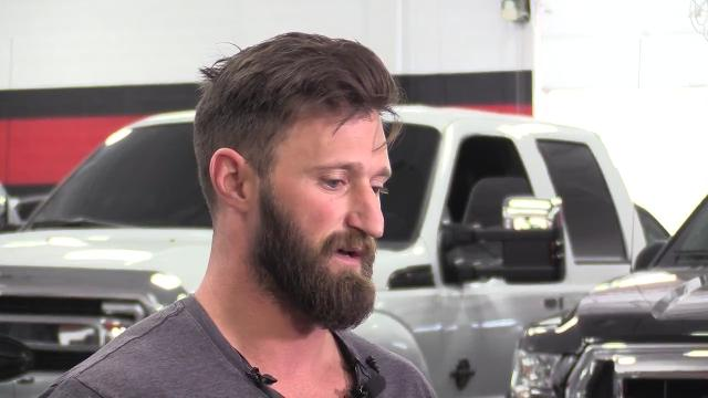 Gilbert dealer gives truck to veteran, Las Vegas hero