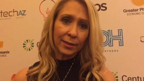 """Shelly Murphy, Exeter Education spokeswoman, talks about the Woz Accelerator, a school that will be based in Arizona that aims to develop the talent of """"the best of the best."""""""