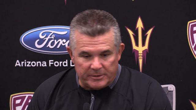 Todd Graham on game atmosphere in upset win
