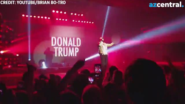 Macklemore Leads Sold Out Tempe Crowd In Anti Trump Chant