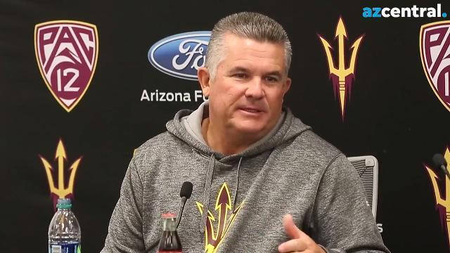 ASU's Todd Graham on fourth-down decision vs. Washington
