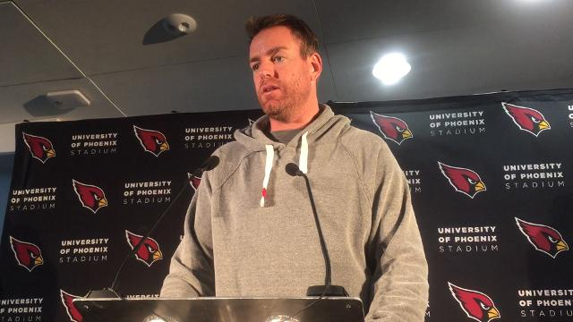 The Cardinals QB addressed the Media in London on Wednesday.