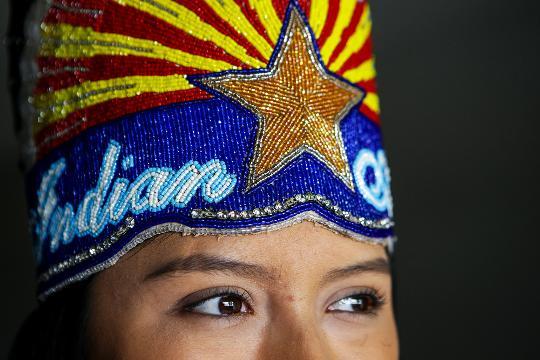 Mariah Jordan Sharpe talks about being chosen as Miss Indian Arizona. Sean Logan/azcentral.com