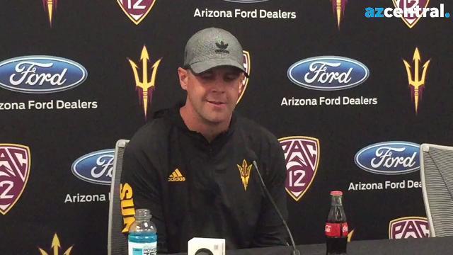 ASU offensive coordinator Billy Napier on Utah