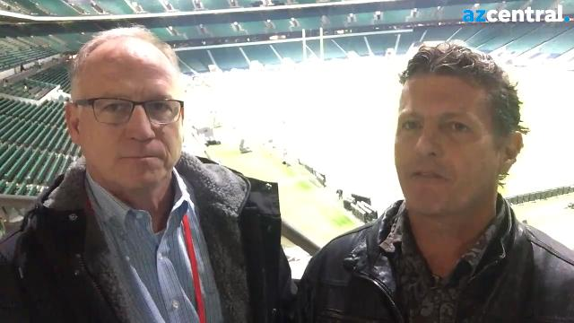 Kent Somers' and Dan Bickley's postgame report from London