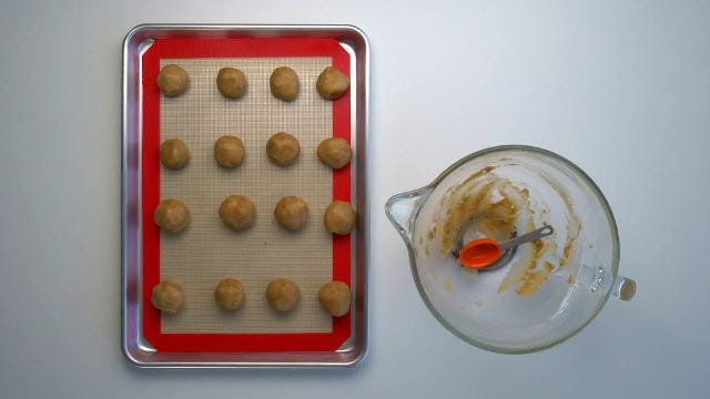 Sally McKenney's Reese's Stuffed Peanut Butter Cookies Recipe