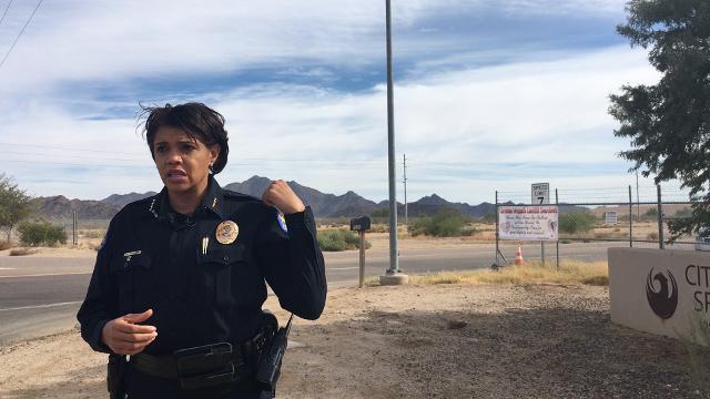 Phoenix Police Chief Jeri Williams on landfill search