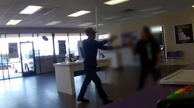 Video shows armed robbery at Metro PCS store