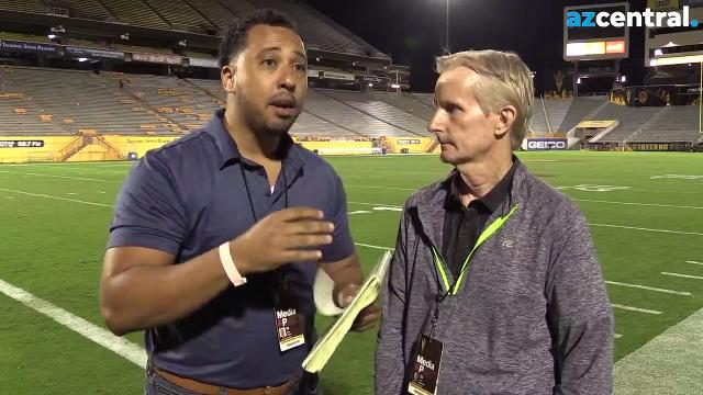 Jeff Metcalfe and Greg Moore dissest ASU's 41-30 home victory over Colorado. The Sun Devils are now 5-4 with three games to play.