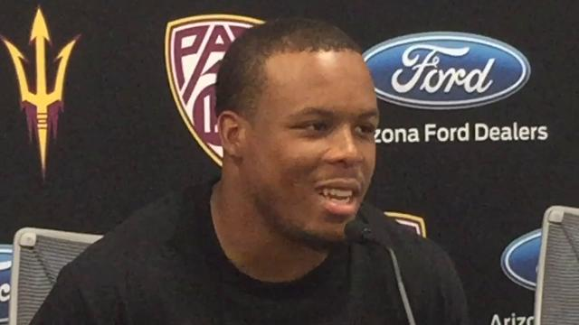 Sun Devils running back Demario Richard on his emotional reaction after rushing for 189 yards against Colorado