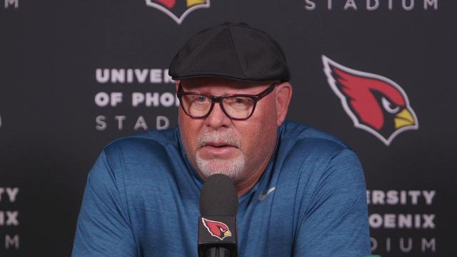 Arizona Cardinals coach Bruce Arians looks back at the factors that contributed to the Cardinals 22-16 loss to the Seattle Seahawks on Thursday Night Football.
