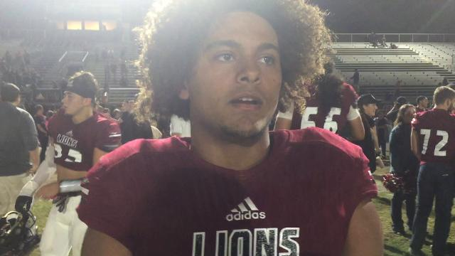Lance Lawson talks about Red Mountains' quarterfinal win over Westview. RM next faces Chandler.