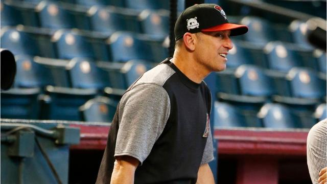 Arizona Diamondbacks manager Torey Lovullo was named National League Manager of the Year. In his first season with the team, Lovullo helped the Diamondbacks improve by 24 wins.