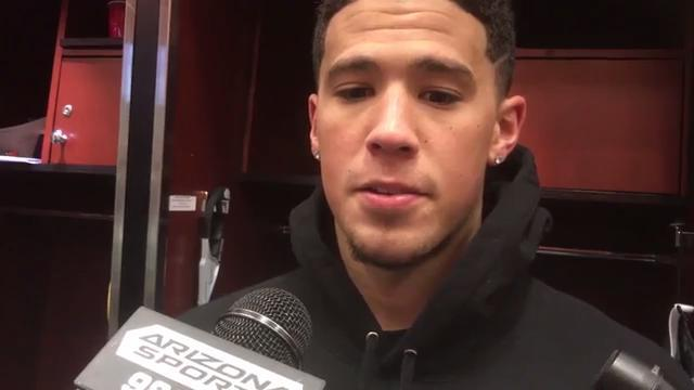 Devin Booker on incident with Lakers coach